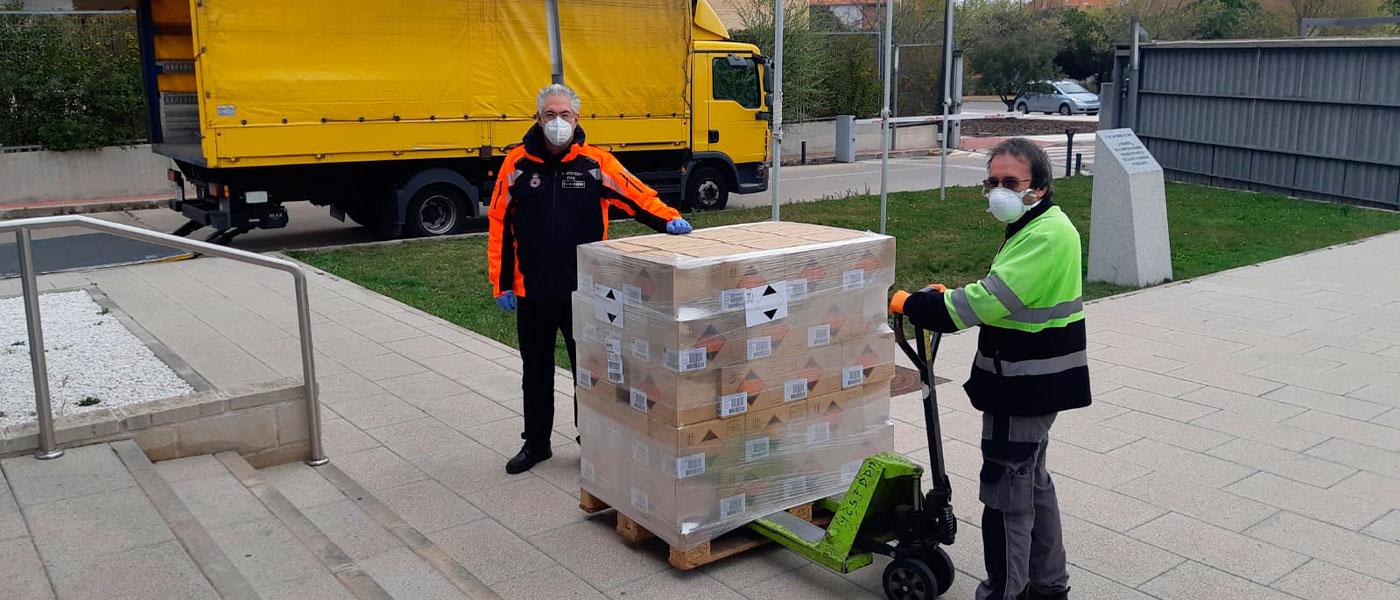 Nivea dona 1.680 unidades de gel hidroalcohólico