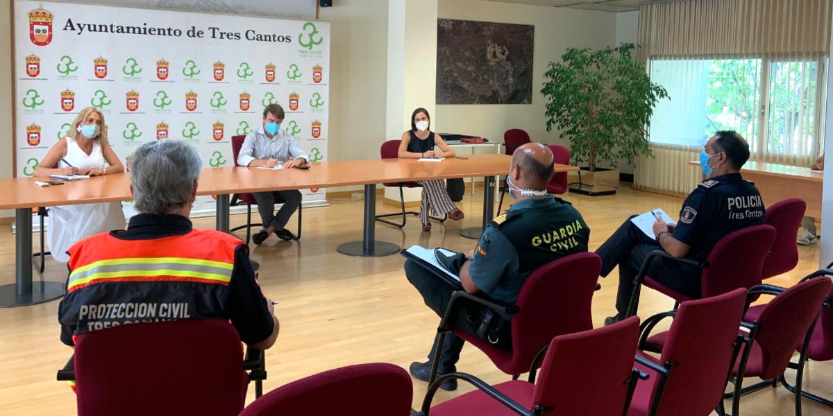 Reunión del equipo de seguimiento COVID-19 del municipio