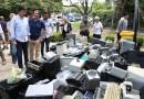 San Isidro continúa reciclando residuos electrónicos