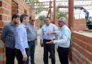 Julio Zamora supervisó el avance de obras del Hospital de Diagnóstico Inmediato de Benavídez