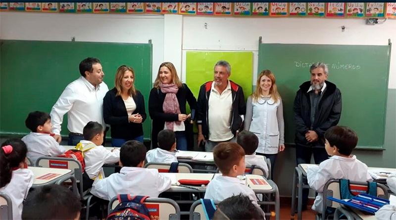 Inversión educativa: Tigre continúa equipando las escuelas del distrito con nuevo mobiliario