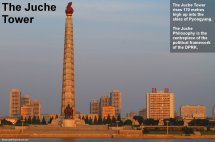 Juche Tower - Visit Symbol Of Ideology In