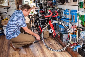 Servicing Bicycle