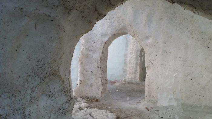 Bedroom doors at Sorrisniva