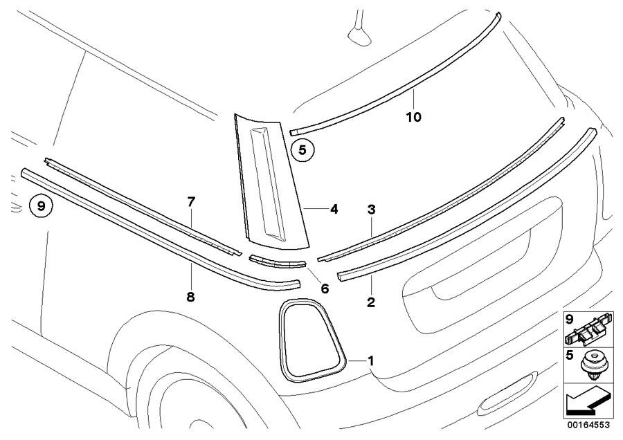 Interior/Exterior Chrome trim removal and installation