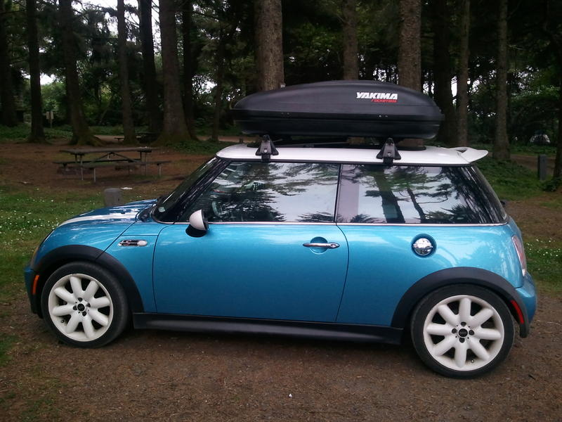 Mini Cooper Roof Rack And Box