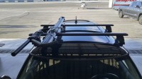 FS:: Thule Black Aeroblade Roof Rack and Rocky Mounts ...