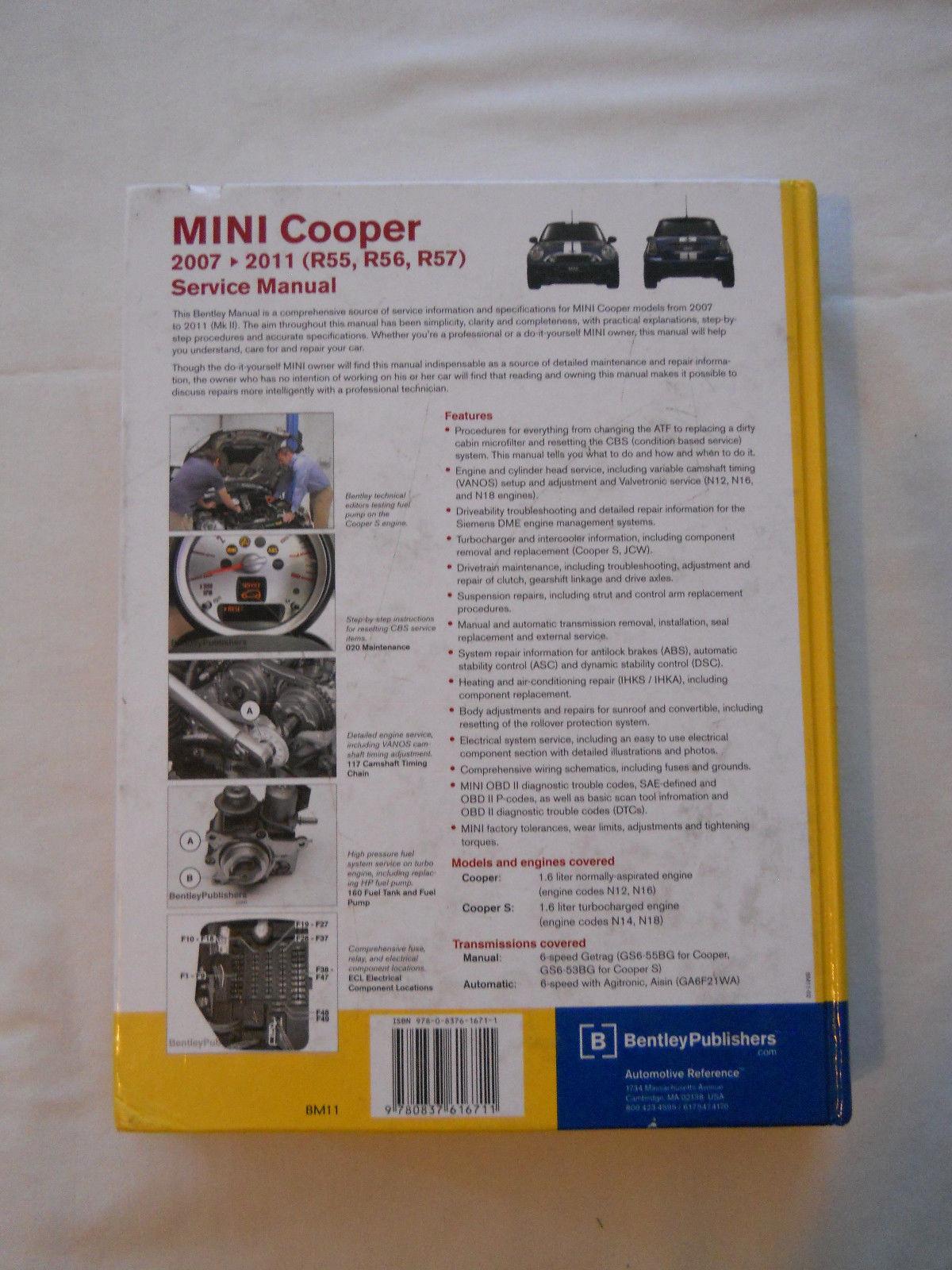 Cooper 2011 Pdf Mini Owners Manual