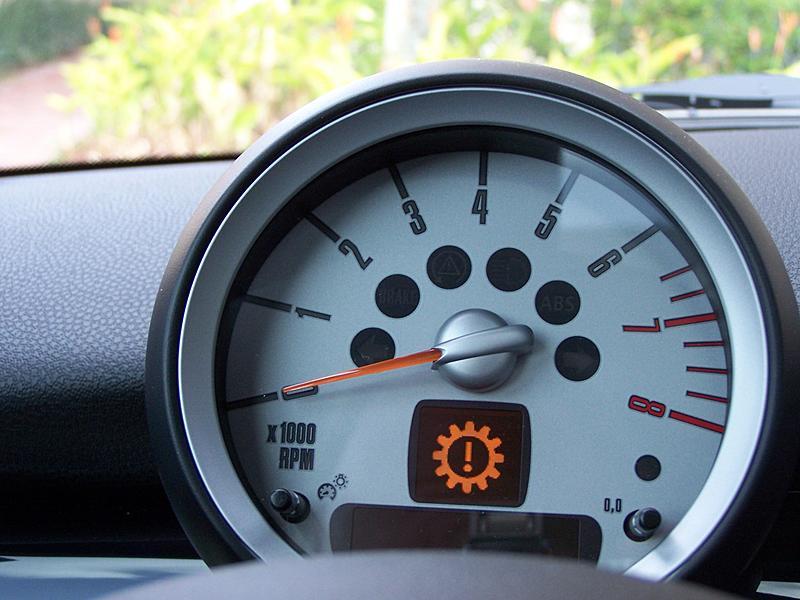 Gear shaped warning signal  North American Motoring
