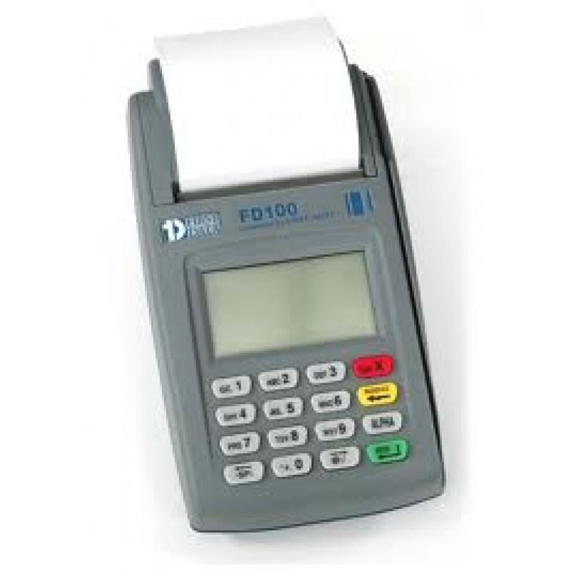 Credit Card Fd100 Machine