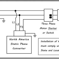 Single Phase Starter Wiring Diagram 3 Pin Plug Static Converter Electronic