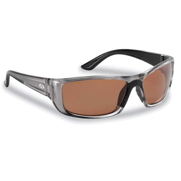 Buchanan Sunglasses 7719GC - Crystal Gunmetal Frame, Copper Lenses
