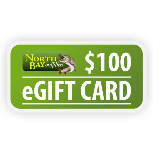 North Bay Outfitters $100 eGift Card