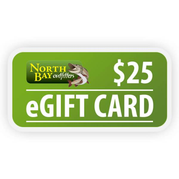North Bay Outfitters $25 eGift Card