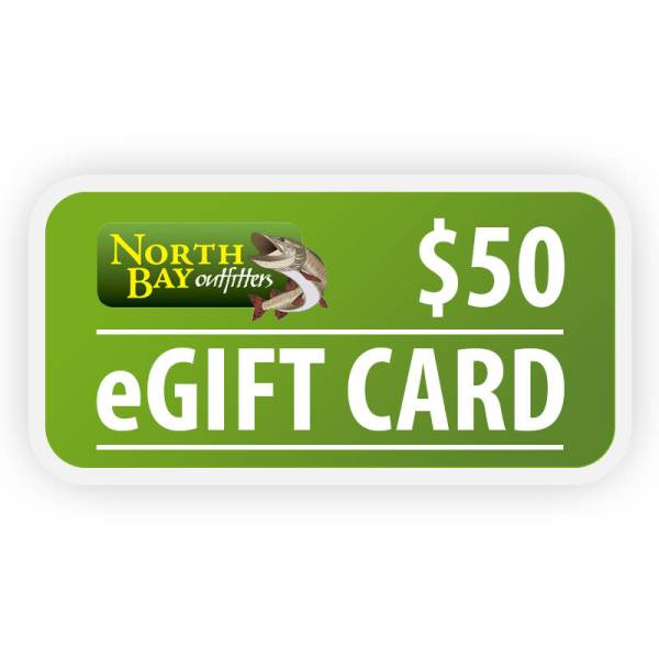 North Bay Outfitters $50 eGift Card