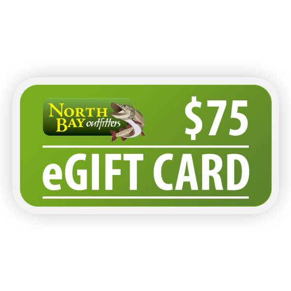 North Bay Outfitters $75 eGift Card