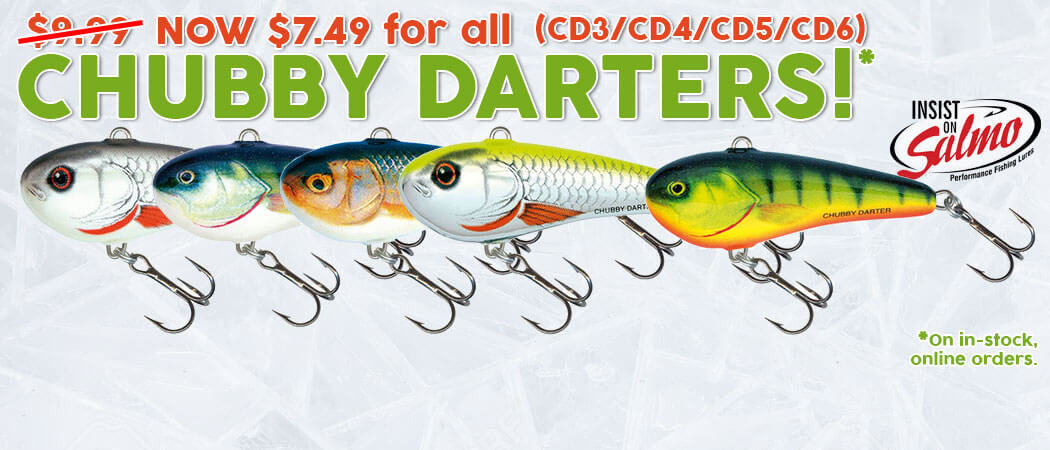 Chubby Darter Family on Sale - North Bay Outfitters