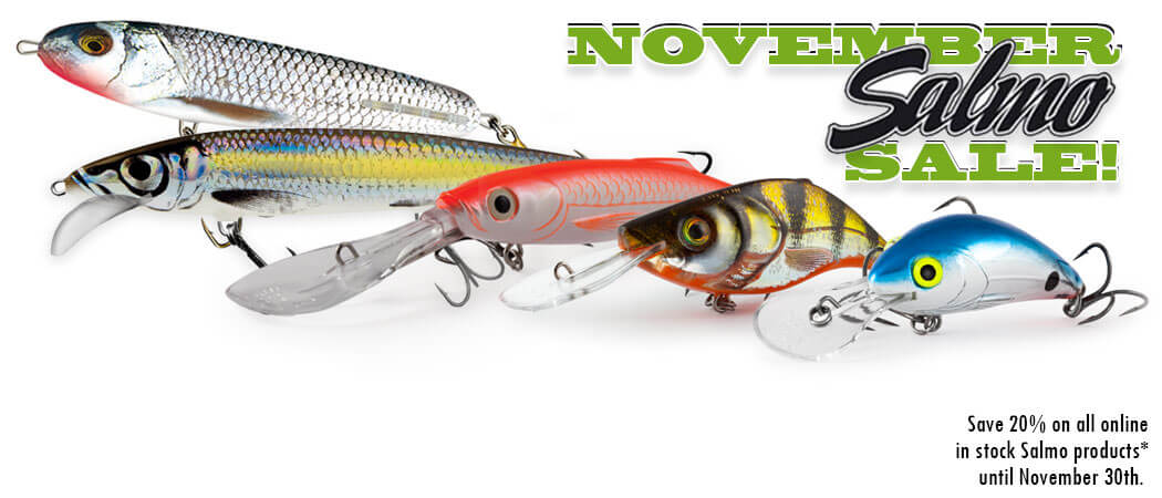 November Salmo Sale - North Bay Outfitters