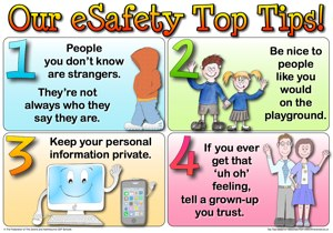 eSafety Poster - KS1