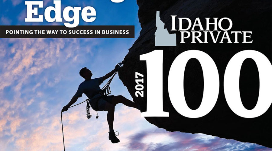 We are excited to be one of Idaho's Top 100 Private Companies
