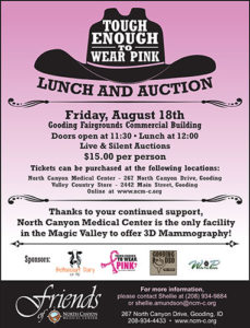 2017 Tough Enough to Wear Pink Lunch & Auctio