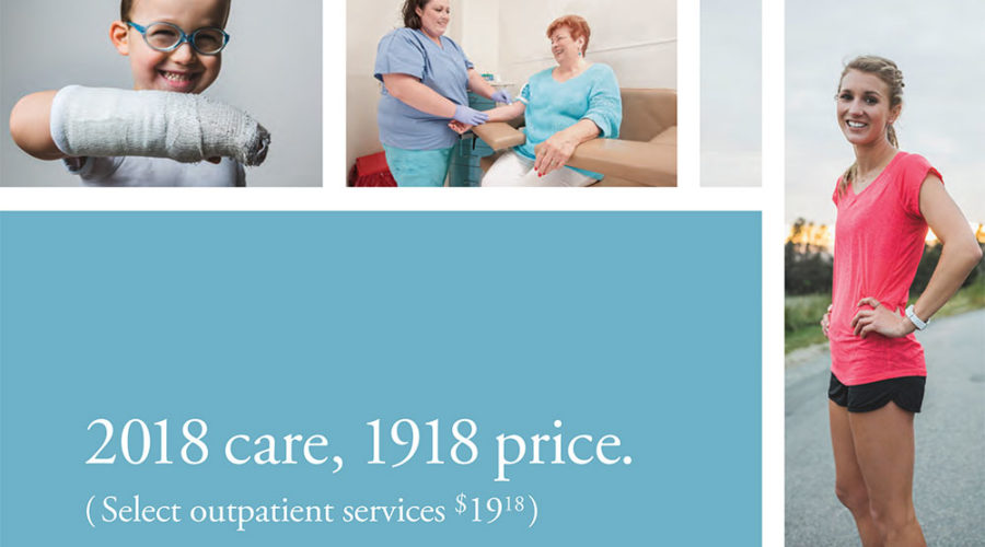 North Canyon Medical Center Rolls Back Prices to Commemorate 100 Year Anniversary