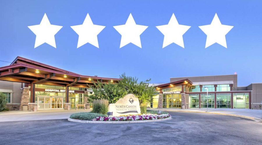 NCMC awarded 5 stars from CMS