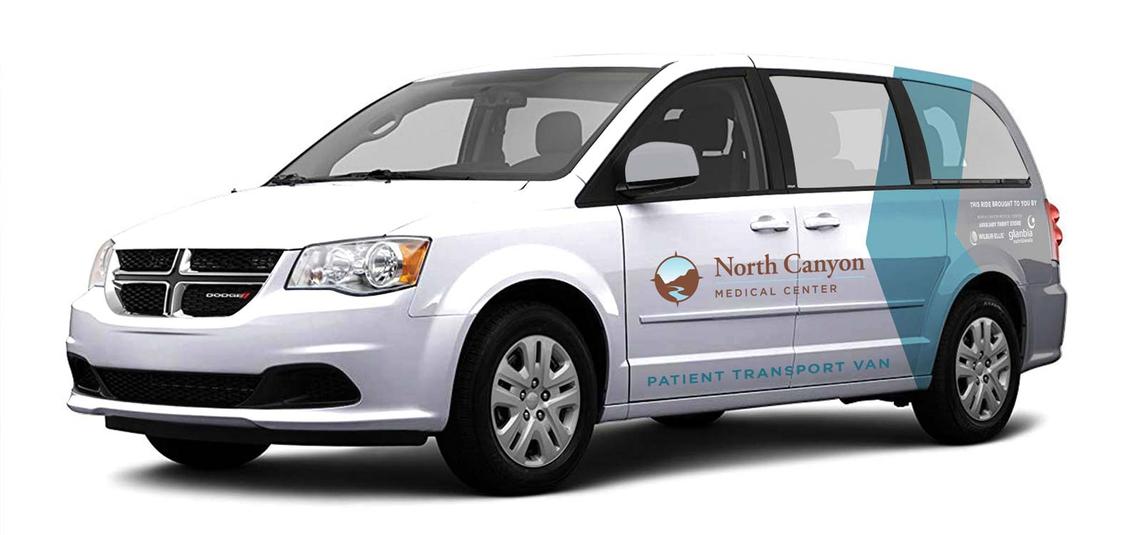 NCMC Patient Transportation Van