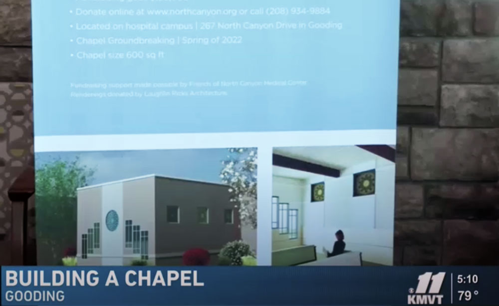 North Canyon Medical Center announces plans for a chapel