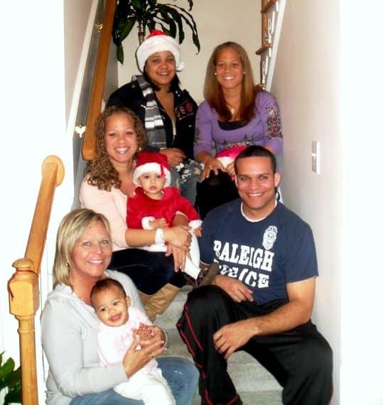 Lynn Burke and her family