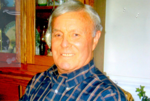 Chuck Barbour in 1996, before the move to his and Jeannette's new Durham home where they would live together until Chuck was placed in an assisted living facility in 2009.