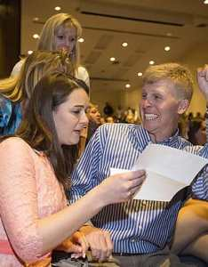 Happy students getting news of medical residencies also schools tout high numbers primary care grads but the rh northcarolinahealthnews