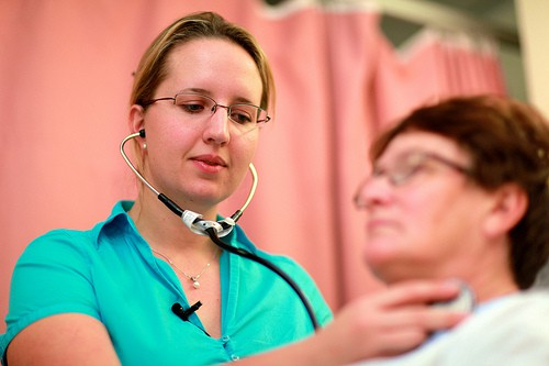 Getting patients in to see primary care practitioners is key to the Affordable Care Act. Image courtesy DIBP Images, flickr creative commons.