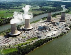 Three Mile Island, a nuclear power power plant in Pennsylvania that endured a meltdown in 1979. Wing's research linked increases in cancer rates to the plant's release of radiation.