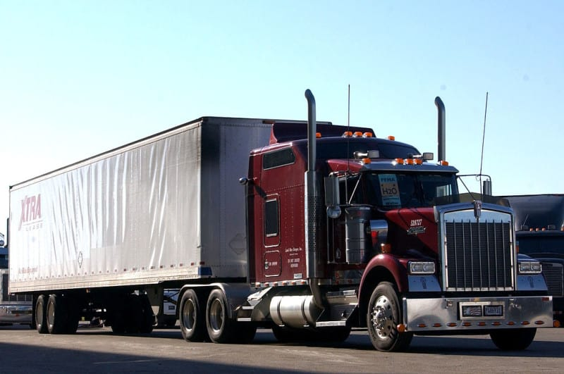 A Senate proposal would allow heavy-duty vehicles, such as eighteen-wheelers, to idle indefinitely. Photo courtesy U.S. Air Force