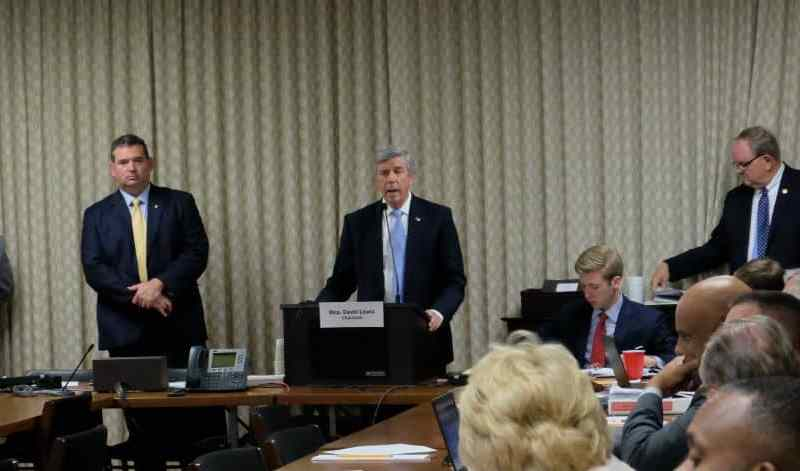 Gov. Pat McCrory's general counsel, Bob Stevens, tells legislators Tuesday evening that if they pass the bill in its current form, McCrory would veto it, and sue if that veto is overridden.