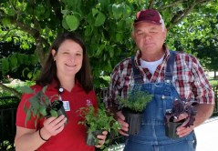 Communications director Heather Monackey from WakeMed Hospital in Raleigh worked to bring a small once-weekly farmers market to the hospital grounds once the only grocery store in the area closed. She worked with Wake County farmer Roger Ball to get fresh fruits and vegetables to the neighborhood every year from April until Labor Day.