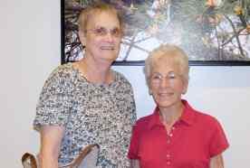 retired nurses toured the new cherry facility