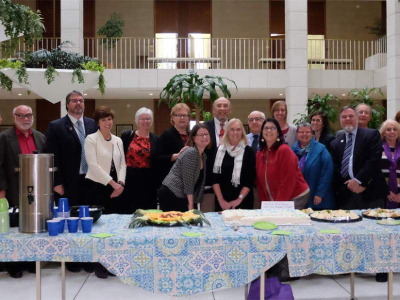 Past and present members of the Child Fatality Task Force gathered at the legislative building in Raleigh to celebrate 25 years of work this week.