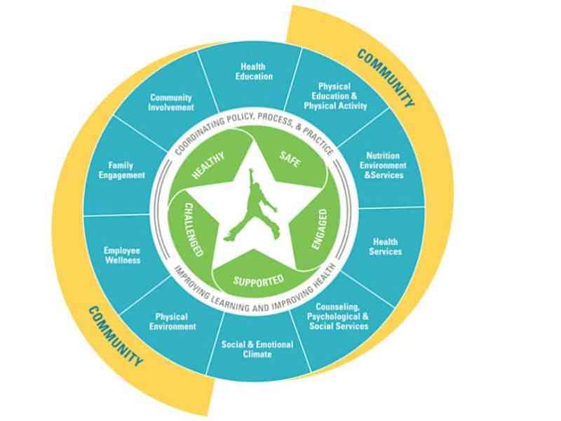 whole child logo, school nurse, school social worker, school psychologist