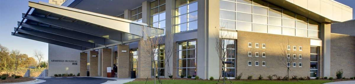 shows a building entrance to Randolph Health facility. The general assembly threw a lifeline to the financially strugglig Randolph hospital this week.