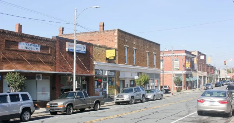 Downtown Siler City has many unkempt buildings in need of maintenance. Siler City is the site of a new maternity unit that primary care physicians will run.