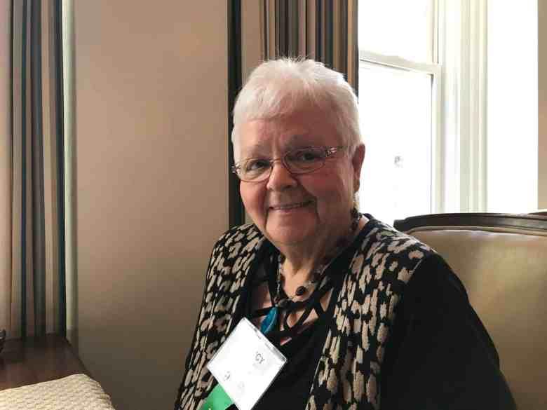Nancy Baker, a board member with Vaya health spoke about Medicaid transformation