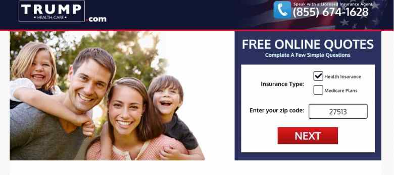 Trump Healthcare.com