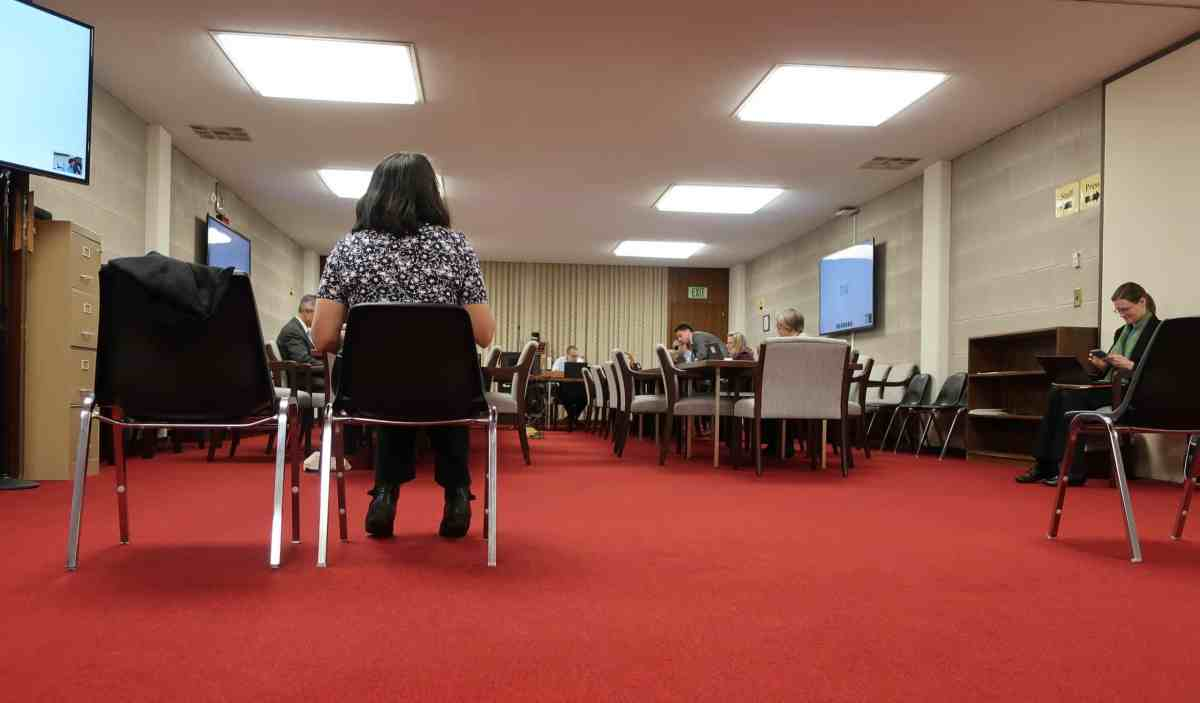 House Select Committee on COVID-19 committee meeting, sparsely attended due to the coronavirus