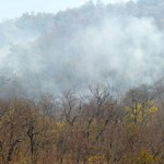 Smoke from fires in nc mountains (photo from abc11.com)