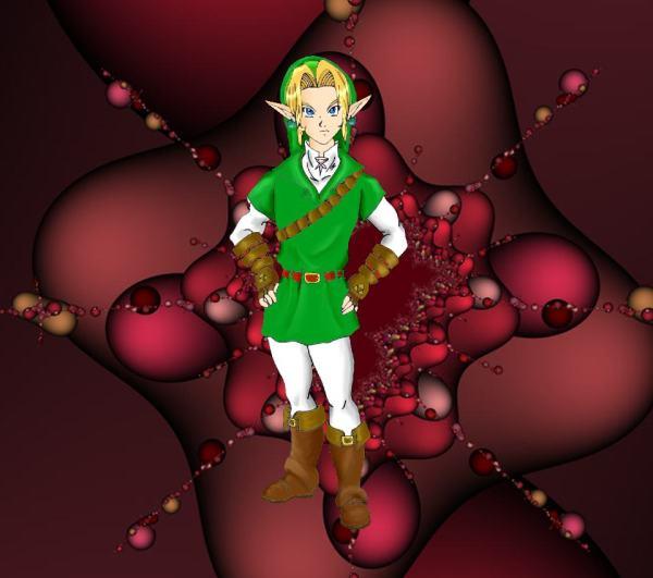 North Castle Zelda Fan Art Dark Fairy