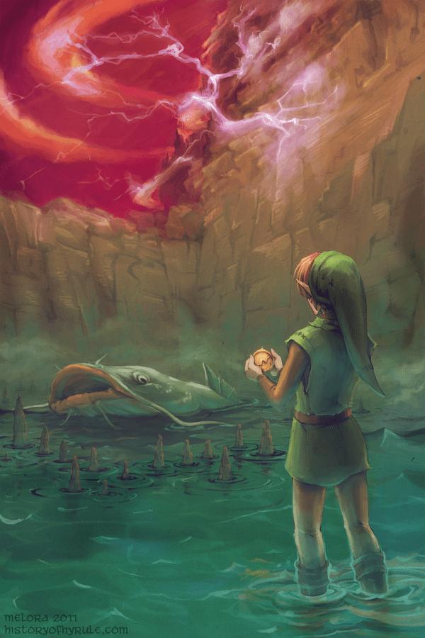 Twilight Princess Link Epona