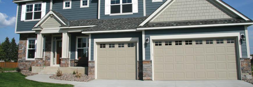 Sandstone Garage Door Color