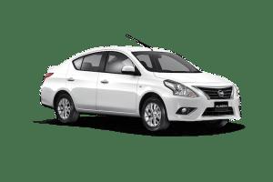 รถเช่า Nissan almera Ecocar